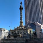 Soliders and Sailors Monument in Public Square Cleveland