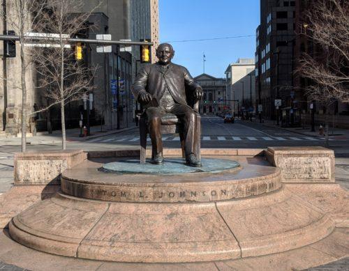 """""""Father's of Cleveland"""" – Mayor Tom Johnson"""