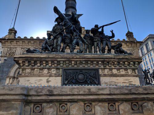 Public Square – Soldiers and Sailors Monument