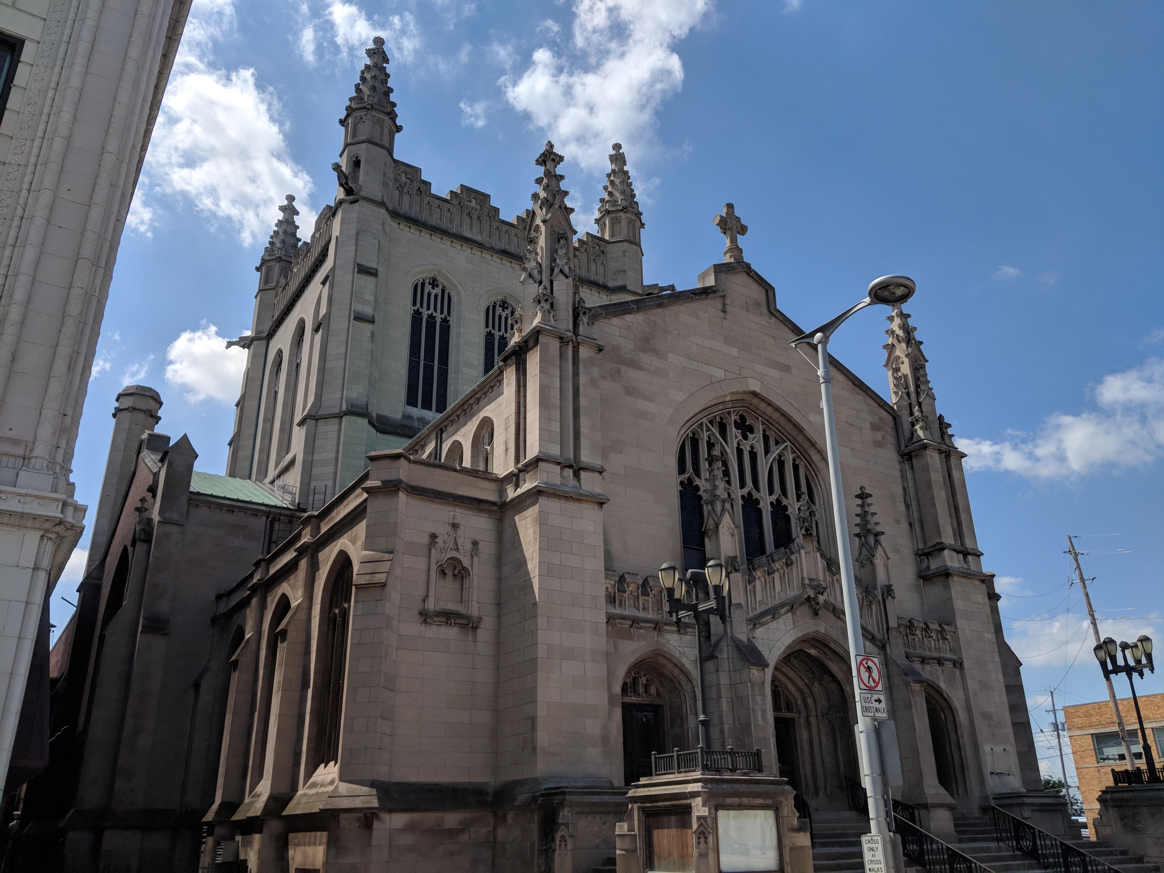 Former First Methodist Church in midtown Cleveland