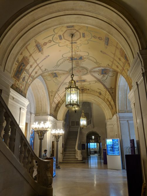 Inside the Cleveland Public Library