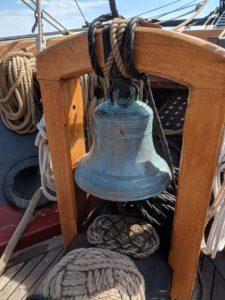 Onboard a tall ship in Sandusky