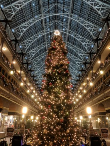 Cleveland Christmas.The Arcade At Christmas Tours Of Cleveland Llc