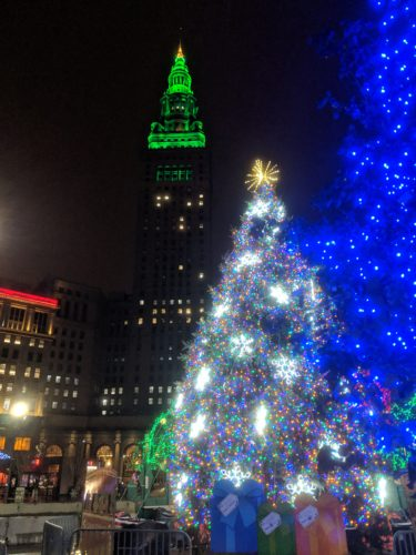 Holiday Walking Tour of Cleveland