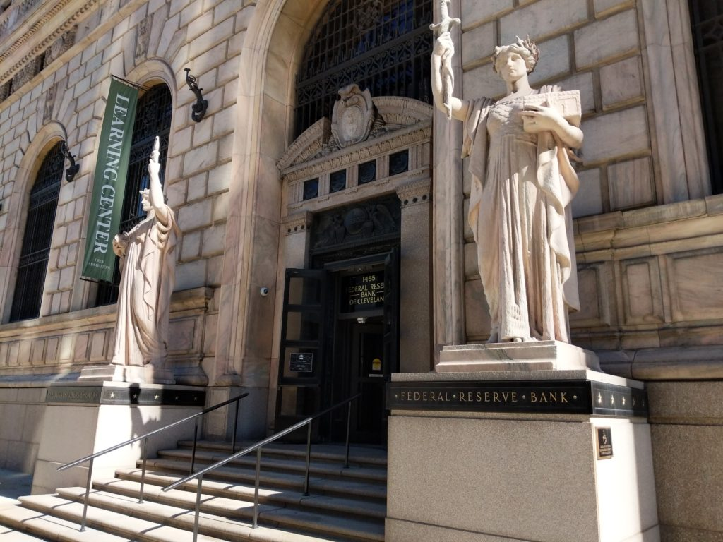 Henry Hering's statues at the Fed in Cleveland