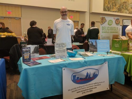 Tours of Cleveland attending CSU Wellness Fair