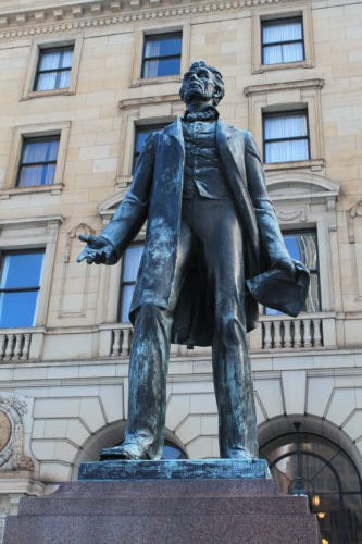 Presidents in Art around Cleveland – Lincoln