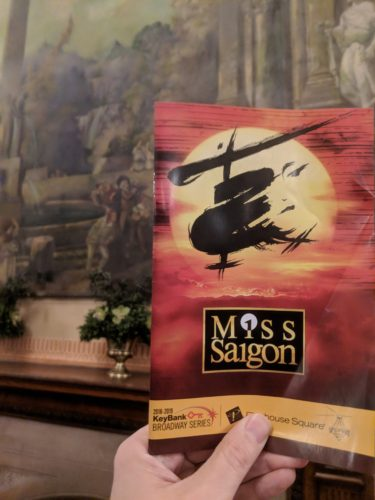 At Playhouse Square in 2019 Miss Saigon
