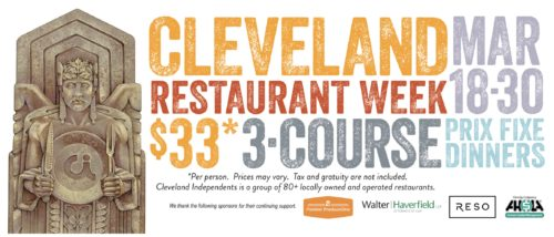 Cleveland Independents Restaurant Week