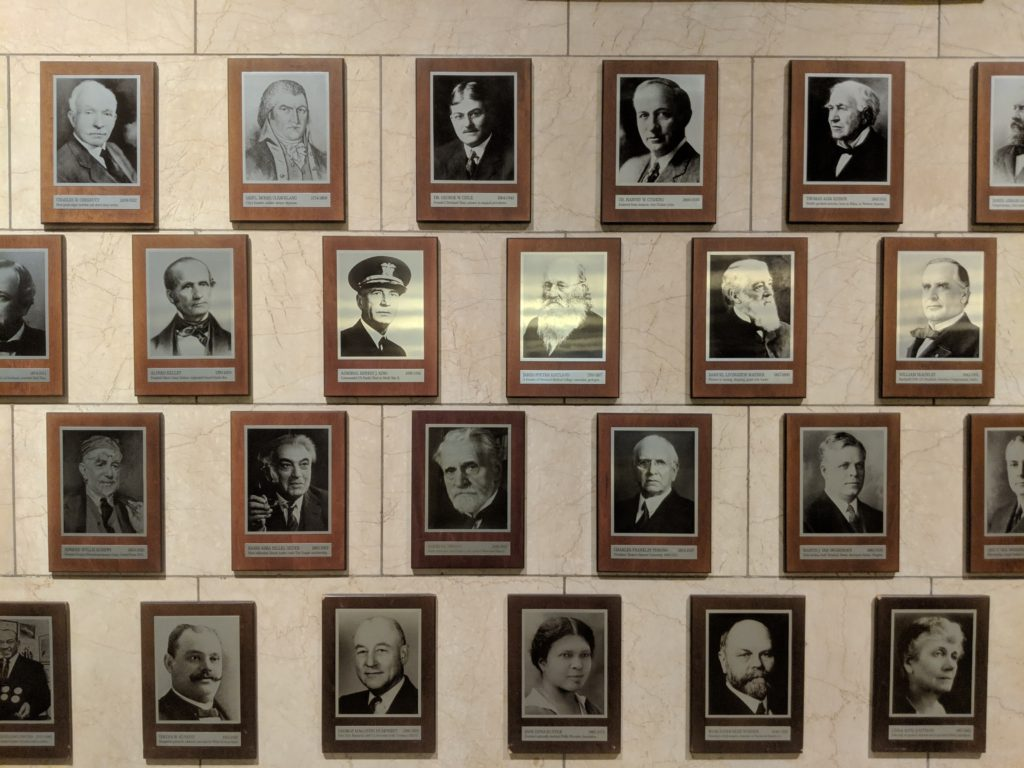 Cleveland's Hall of Fame in City Hall