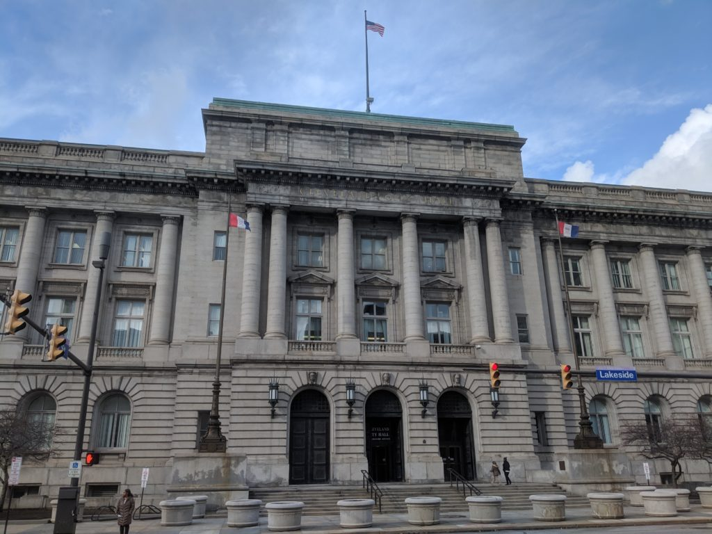 City Hall in Cleveland, Ohio