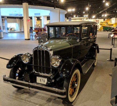 One of the autos at the Crawford Auto Museum in Cleveland