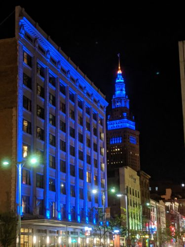 Colors of Terminal Tower