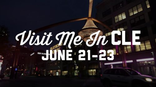 Walking Tour with Tours of Cleveland during Visit Me In CLE