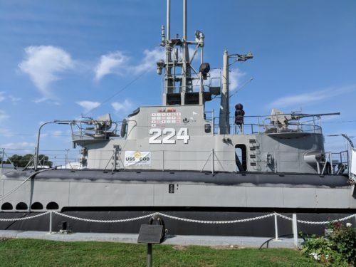 U.S.S. Cod Submarine
