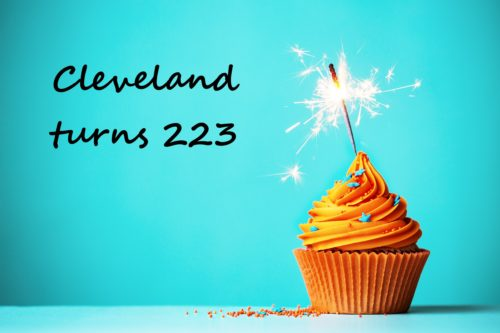 Cleveland turns 223 years old!