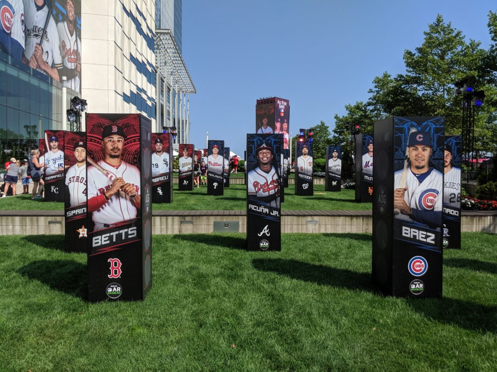 All-Star Players at Play Ball Park in Cleveland