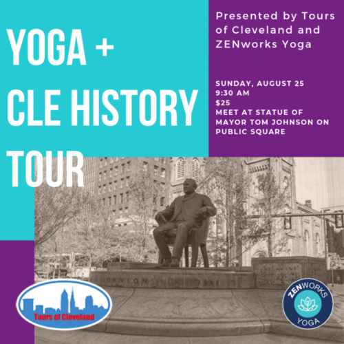 Tours of Cleveland and ZENworks Yoga