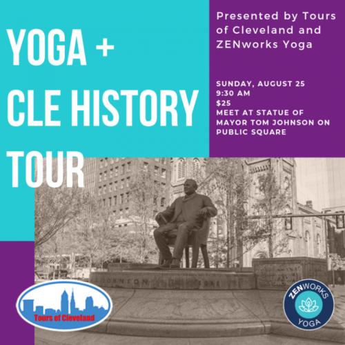 Yoga + Cleveland History Tour