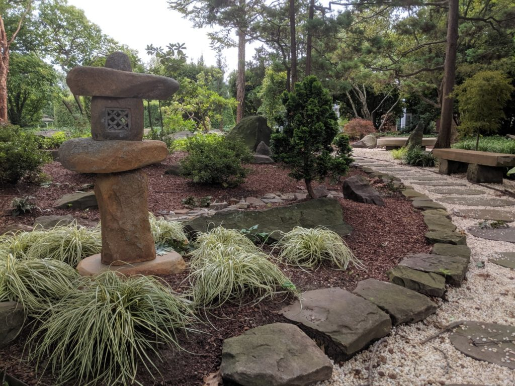Japanese Garden at Cleveland Greenhouse