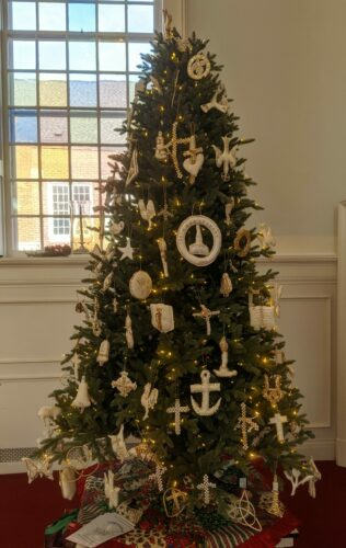 First Christmas Tree in a Church
