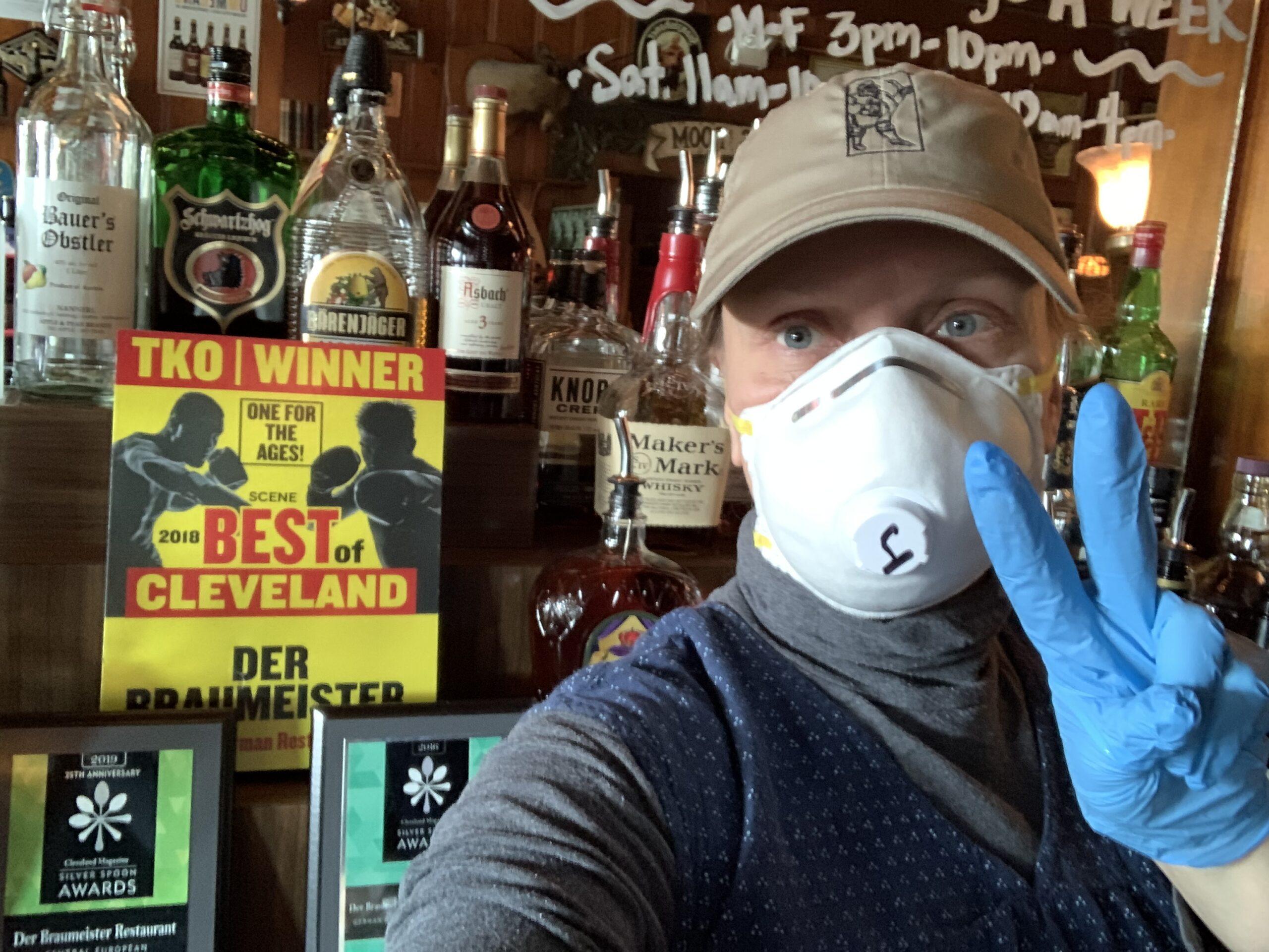 Inside Der Braumeister in Cleveland