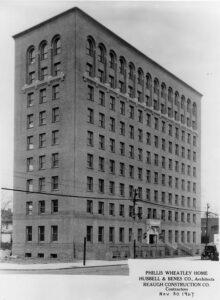Cleveland's Phillis Wheatley Association Building in 1927