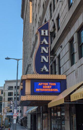 Hanna Theater: 100 Years