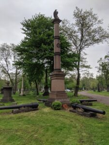 The 7th Ohio Volunteer Infantry in Woodland Cemetery, Cleveland, Ohio