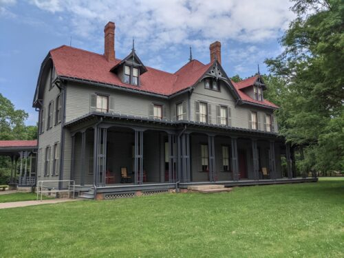The Garfield Home - Lawnfield in Mentor, Ohio