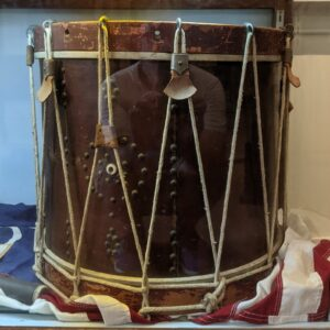 The Drum used in the painting.